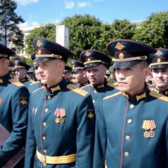Выпуск лейтинантов Михайловской военной артиллерийской академии